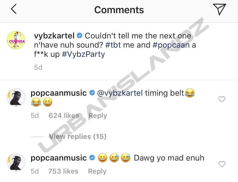Vybz Kartel Publicly Acknowledges Popcaan For First Time In 7 Years - Urban Islandz