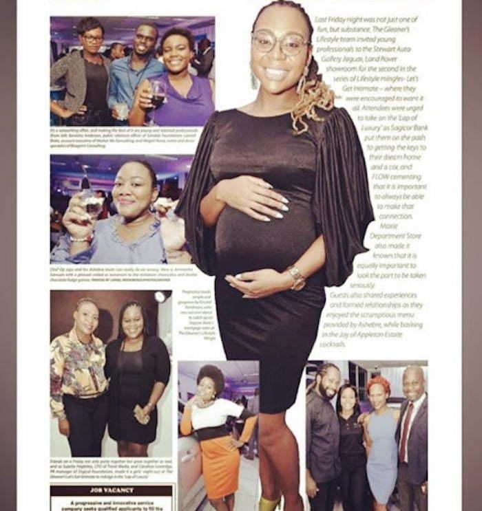 Beenie Man Baby Mama Krystal Shows Off Her Baby Bump - Urban Islandz