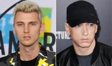 Machine Gun Kelly and Eminem beef