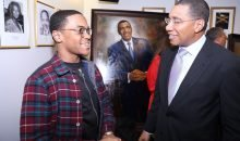 Michael Rainey Jr and Andrew Holness