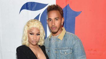 Nicki Minaj Off The Market Confirms Relationship With Lewis Hamilton