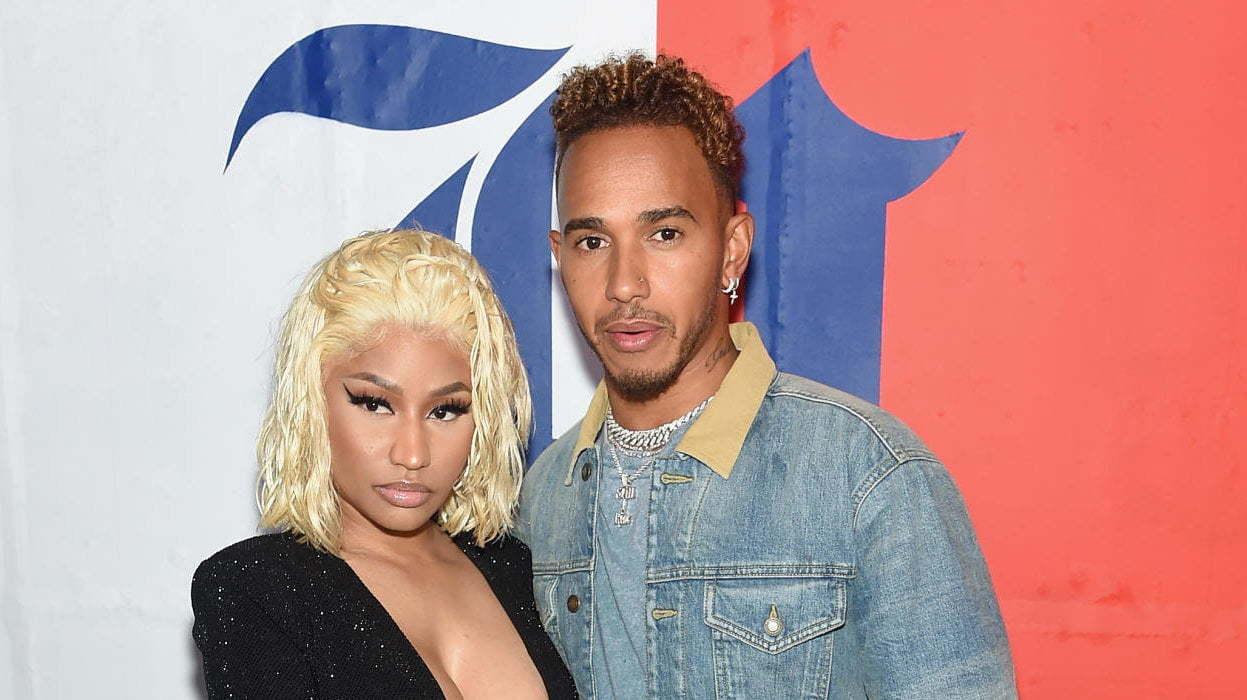 29bd910b122d Nicki Minaj Off The Market Confirms Relationship With Lewis Hamilton ...