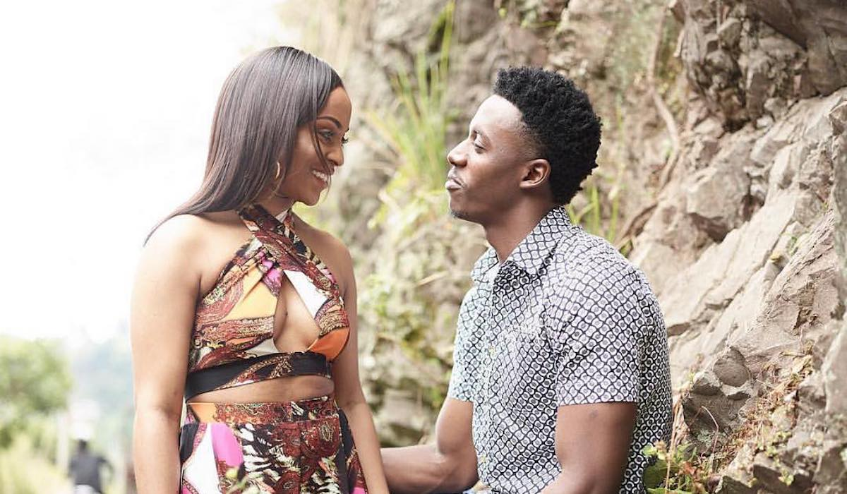 Romain Virgo and Fiance Elizabeth