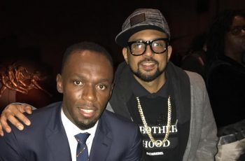 Usain Bolt and Sean Paul