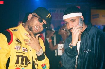 Chris Brown and Drake party