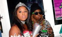 Reginae and Lil Wayne