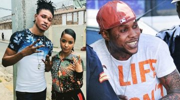Vybz Kartel Smoking Hot Collaborator Ili Sanchea Visits Him In GP