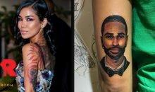 Jhene Aiko cover Big Sean tattoo