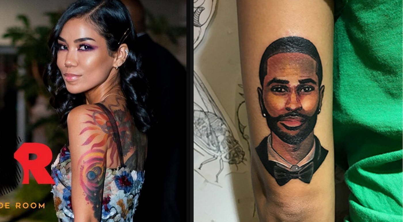 Jhene Aiko cover Big Sean tattoo