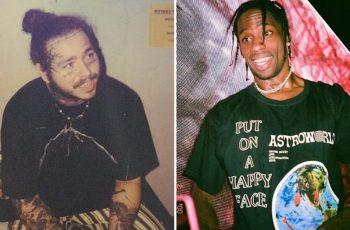 Post Malone and Travis Scott