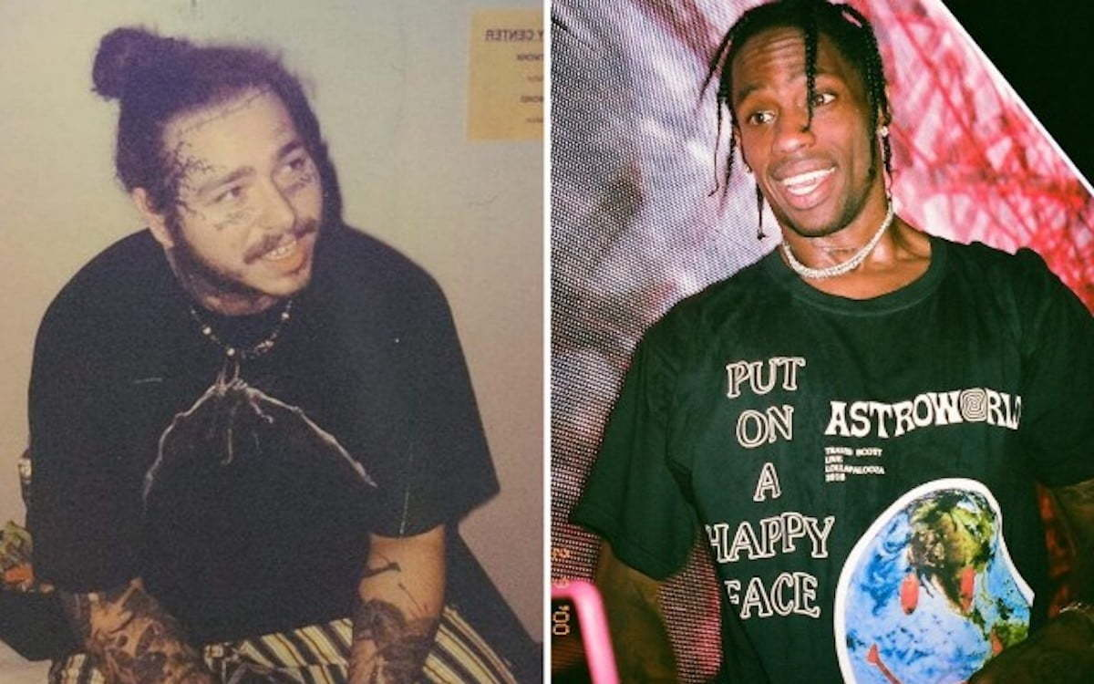 Post Malone and Travis Scott