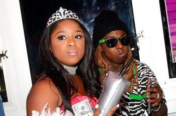 Reginae Carter and Lil Wayne