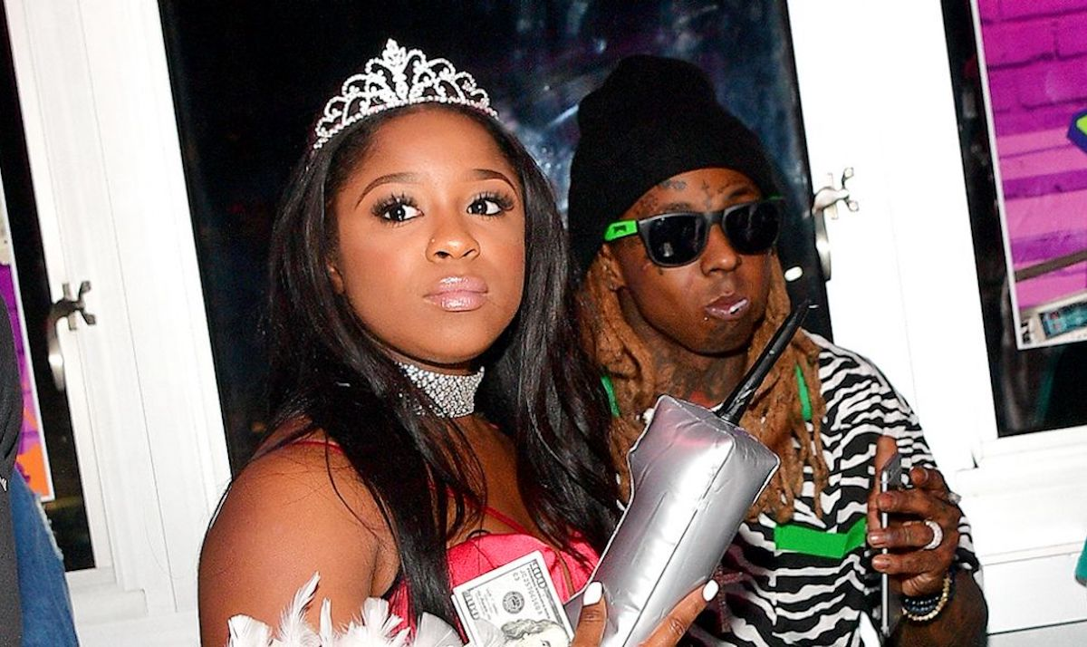 lil wayne daughter reginae carter twerk to celebrate her birthday