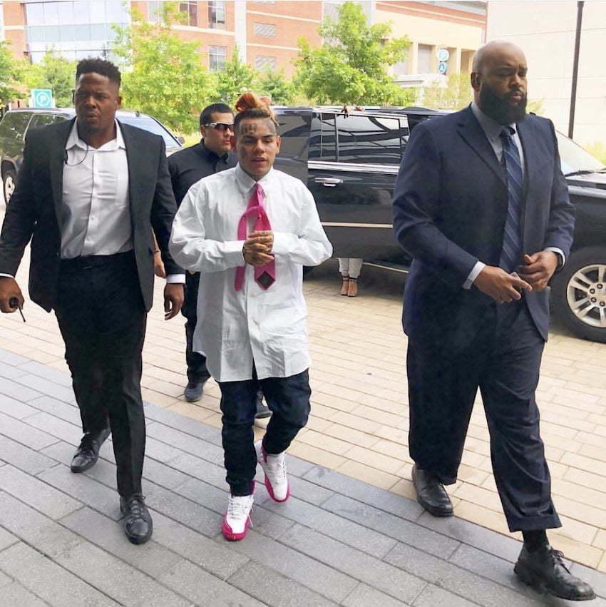 Tekashi 6ix9ine Racketeering Case: Judge Sentence Ex-Bodyguard Despite Severe Illness - Urban Islandz
