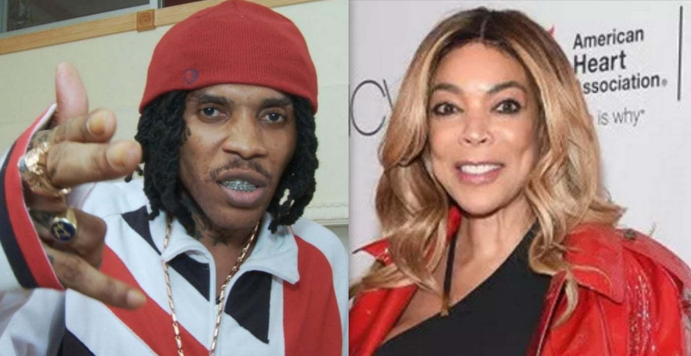 Vybz Kartel and Wendy Williams