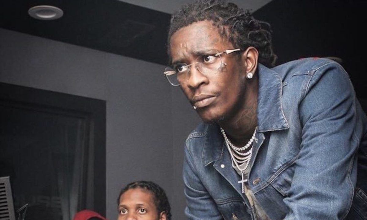 Young Thug depression