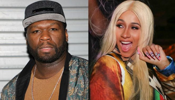 50 Cent and Cardi B