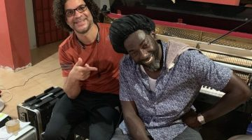 Buju Banton Hit The Studio With Stephen Marley & Producer Lenky