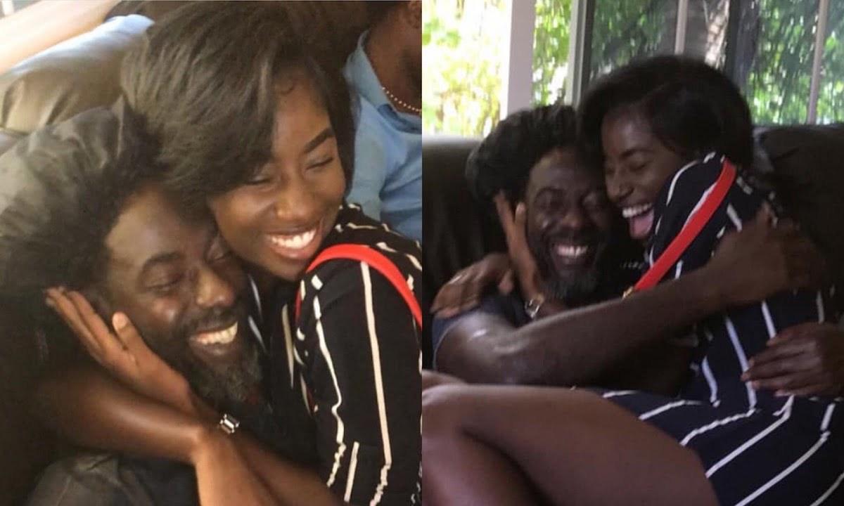 Buju Banton and daughter Abihail Myrie