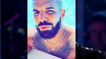 Drake Show Off Giant Owl Tattoo On His Chest While Vacationing In The Caribbean