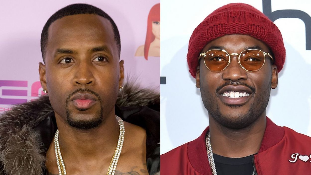 Safaree and Meek Mill