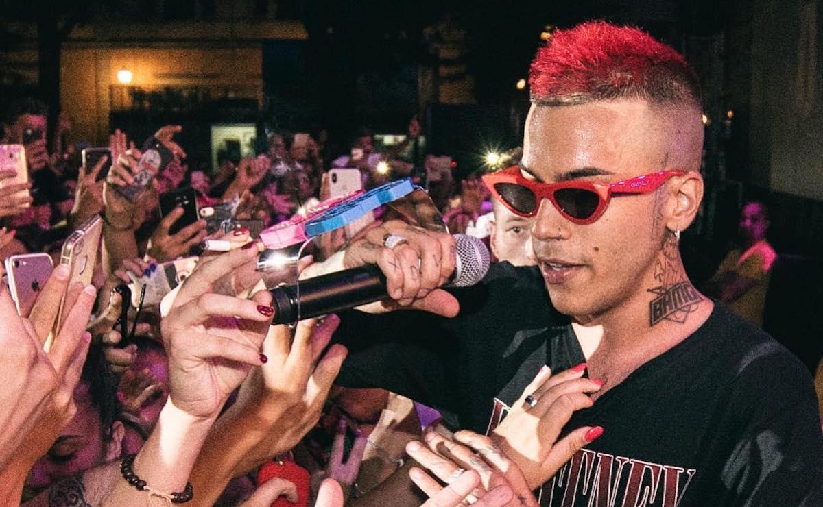 Rapper Sfera Ebbasta