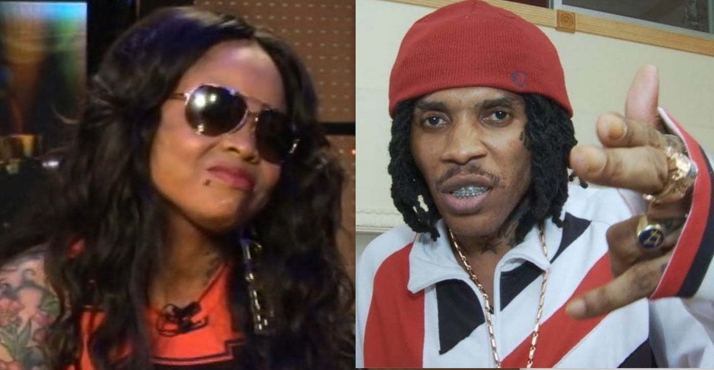 Vybz Kartel and Tanesha Johnson