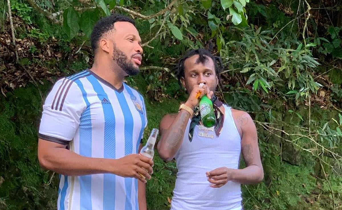 Agent Sasco and Popcaan