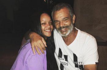 Rihanna and Ronald Fenty