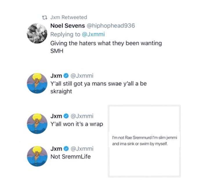 Slim Jxmmi Announced Rae Sremmurd Breakup After Nicki Minaj Performance - Urban Islandz