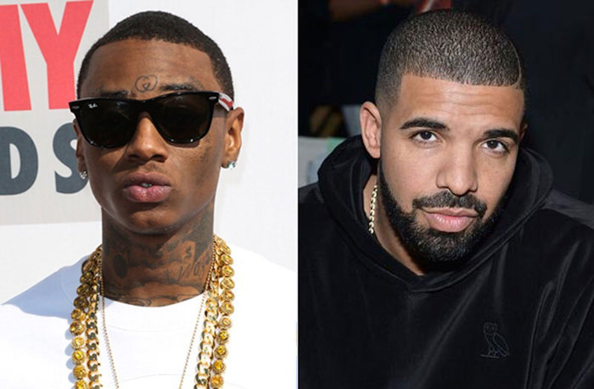Soulja Boy and Drake