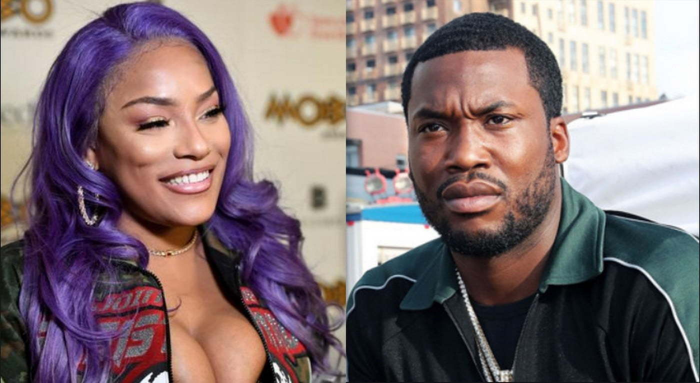 Stefflon Don and Meek Mill