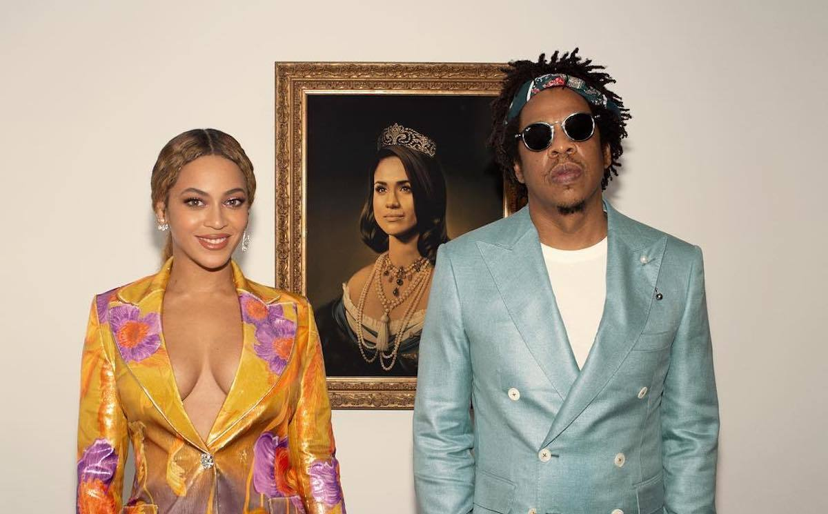 Beyonce and JAY-Z Meghan Markle Portrait