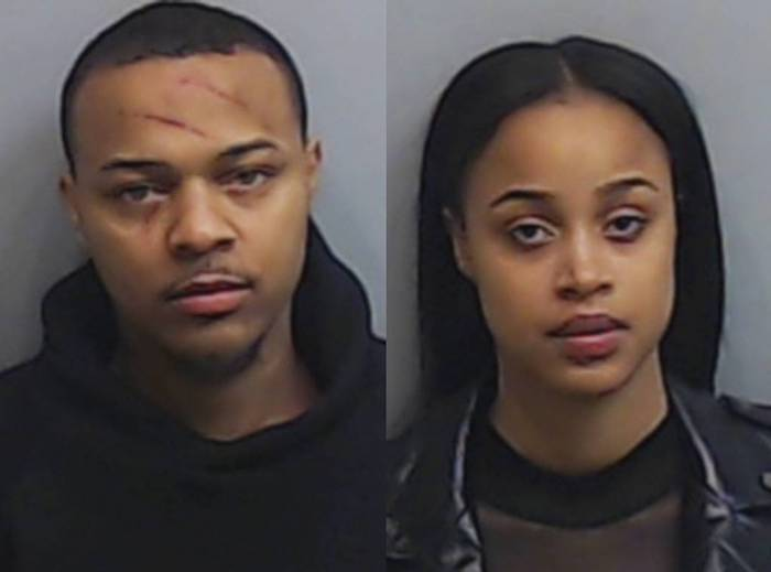 Bow Wow and Leslie Holden mugshots