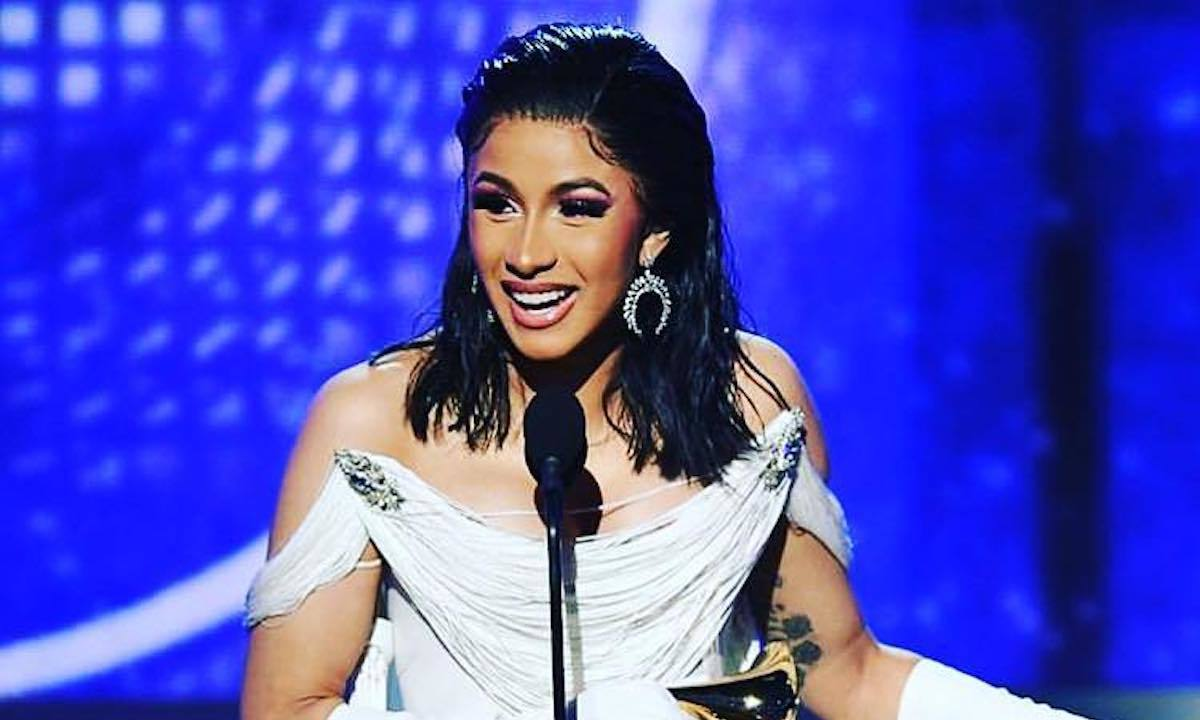 "Cardi B Rapping: Cardi B The First Female Rapper To Win ""Best Rap Album"