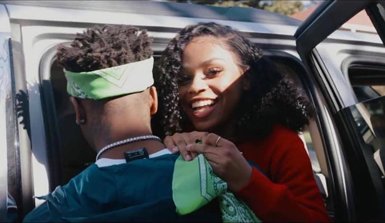 Image result for floyd mayweather daughter nba youngboy
