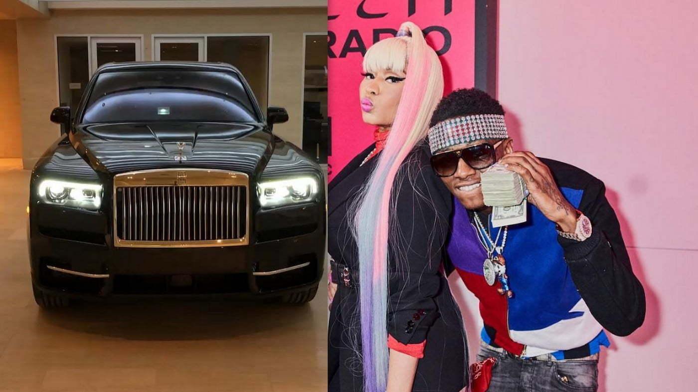 Nicki Minaj Rolls-Royce truck