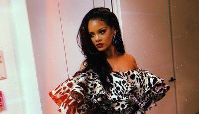 Rihanna Drake party