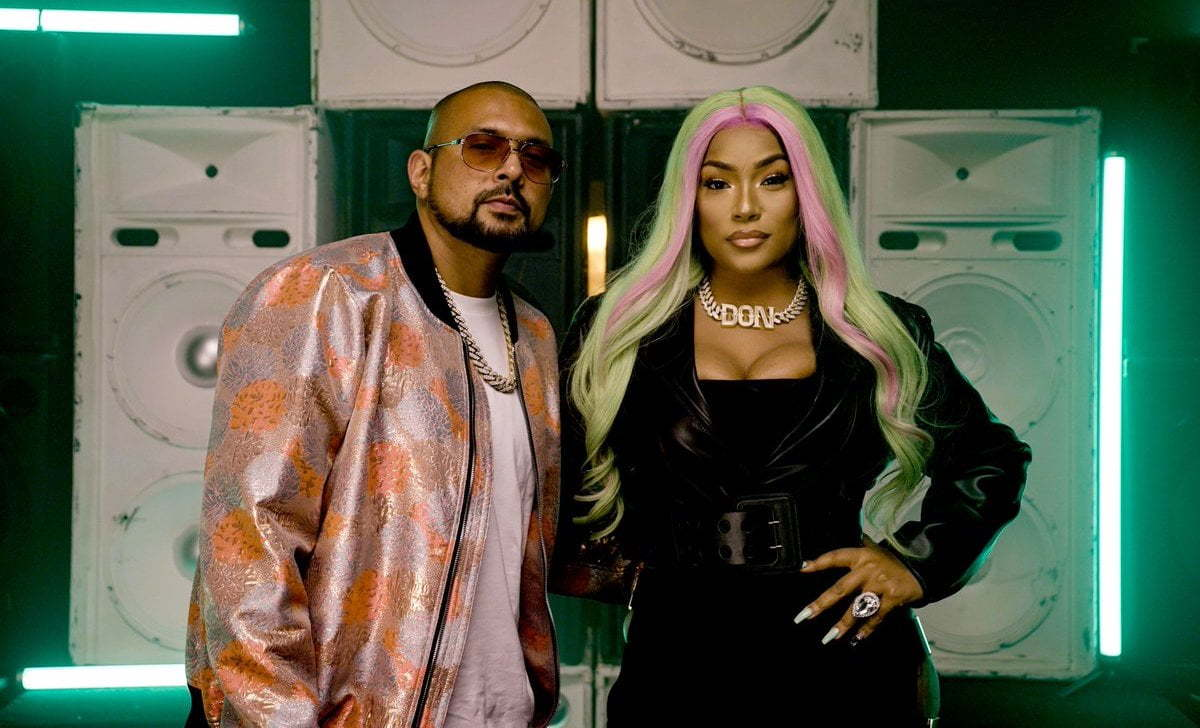 Sean Paul and Stefflon Don