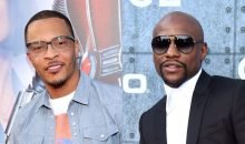 T.I. and Floyd Mayweather