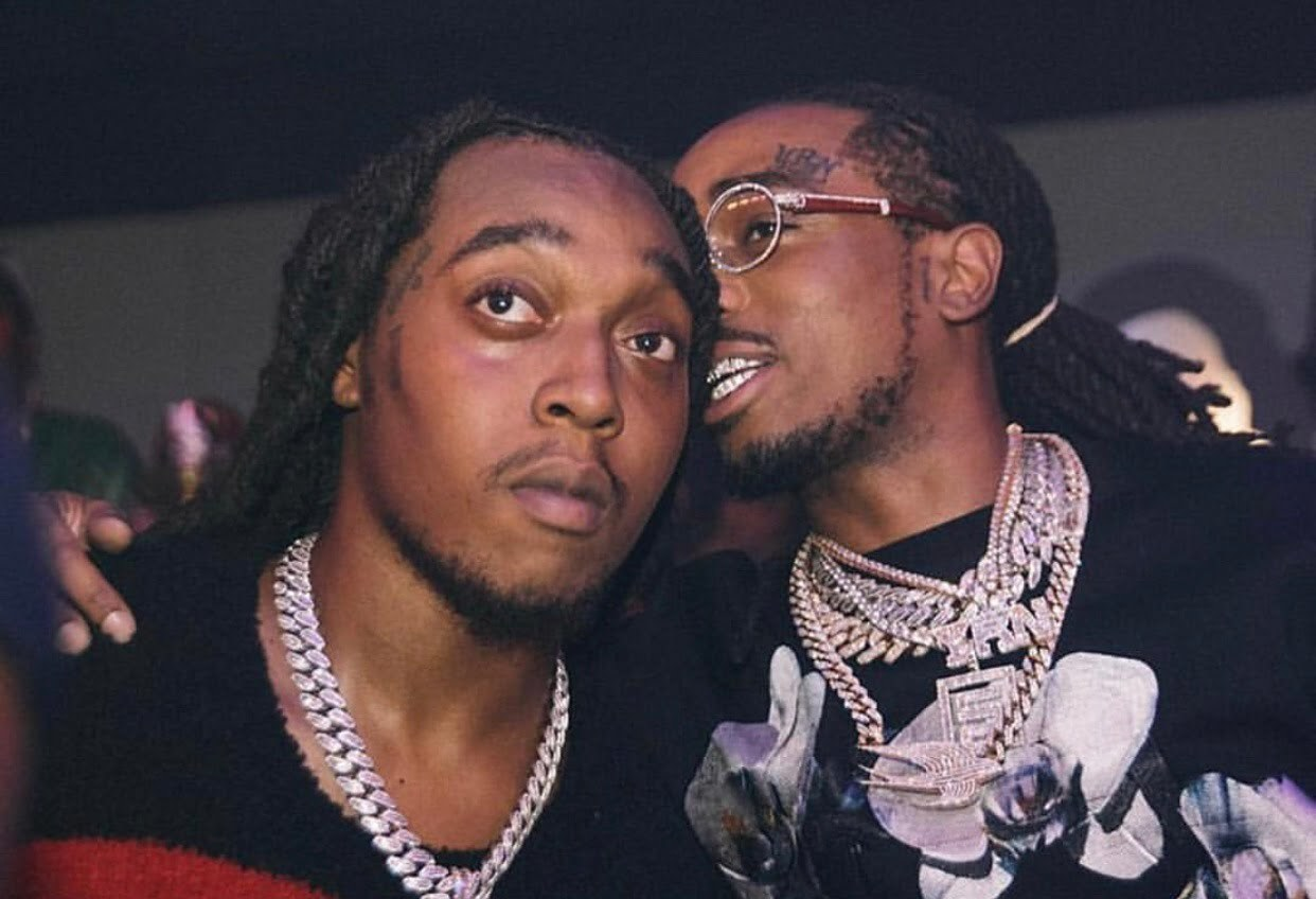 Takeoff and Quavo