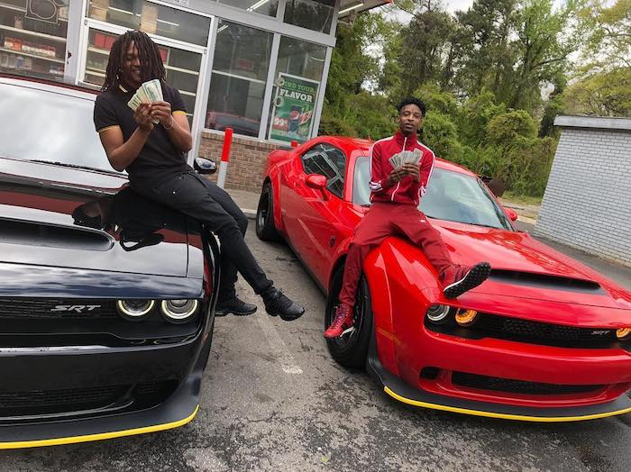 Young Nudy and 21 Savage