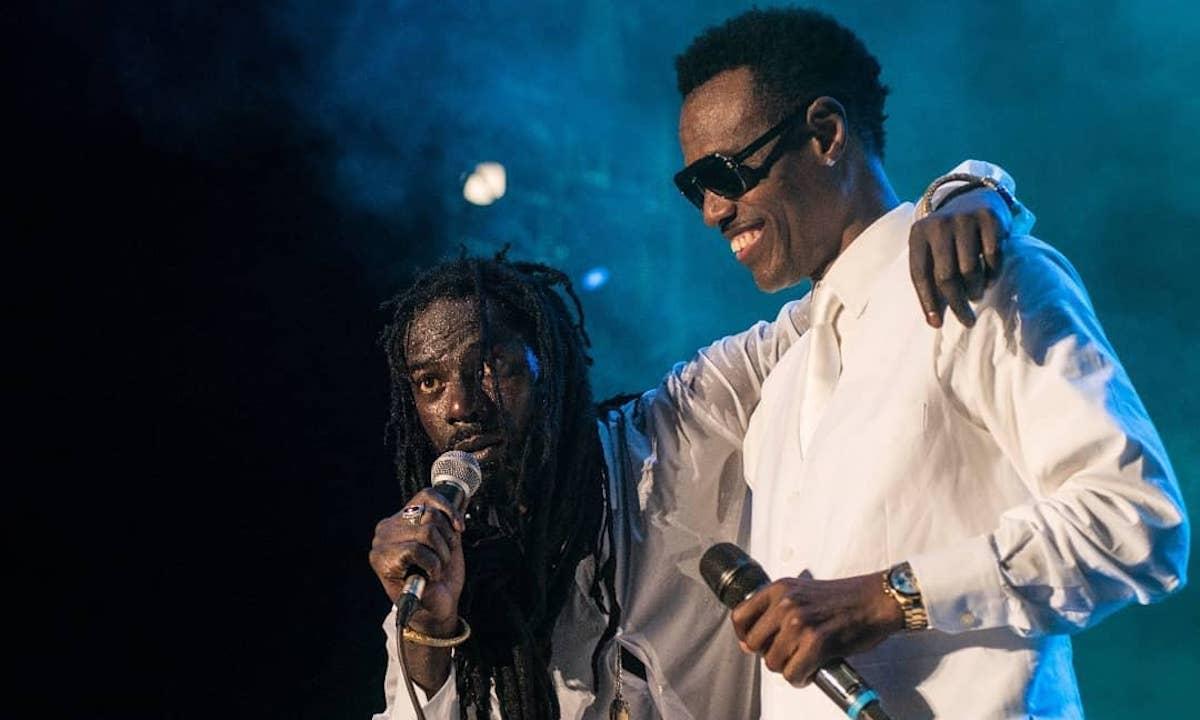 Buju Banton and Wayne Wonder