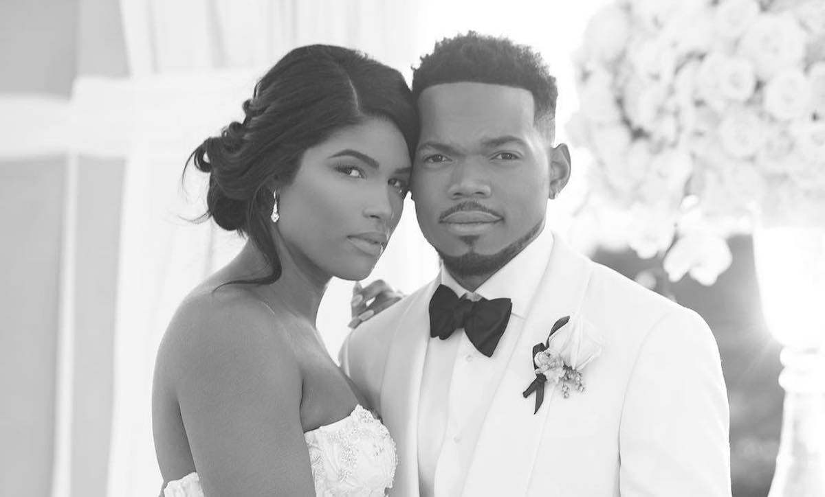 Chance The Rapper Kirsten Corley Got Married In Fairy Tale Wedding Urban Islandz