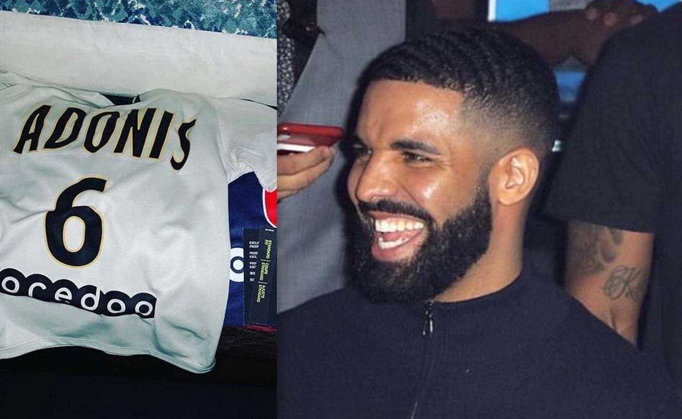 Drake son Adonis jersey