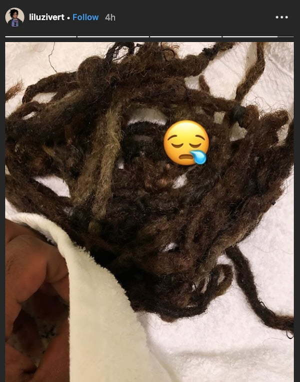 Lil Uzi Vert Cuts His Dreads On Instagram Live Fans Watched In Horror