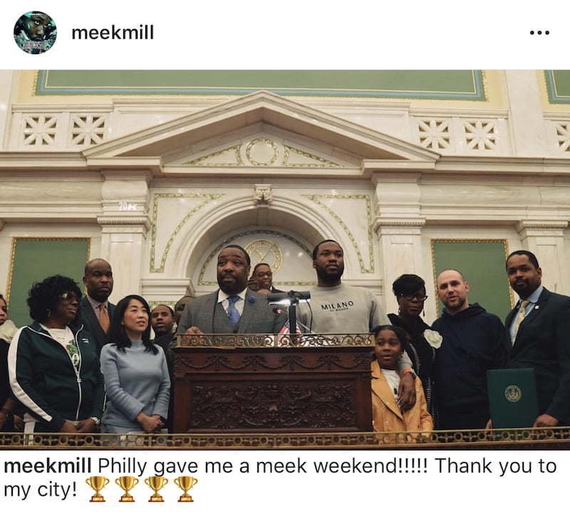 Philadelphia Declares Meek Mill Weekend As His 'Motivation Tour' Rolls Through Town