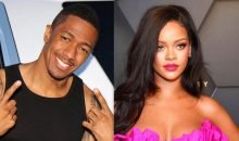 Nick Cannon and Rihanna