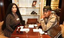 Nicki Minaj and Kenneth Petty in Paris