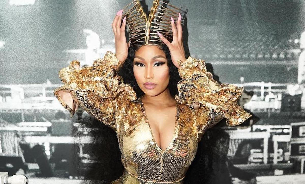 Nicki Minaj Reacts To Fans Chanting Cardi B & Boos After Canceled Concert